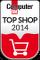 Dieser Shop ist einer der Computerbild Top-Shops 2014